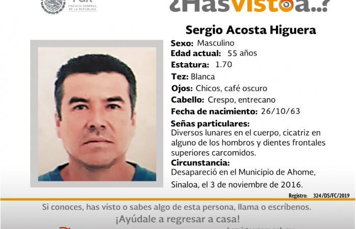 Buscan a siete desaparecidos en Sinaloa