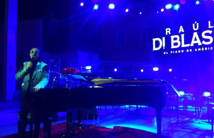 Gran concierto de Raúl Di Blasio en el foro villista