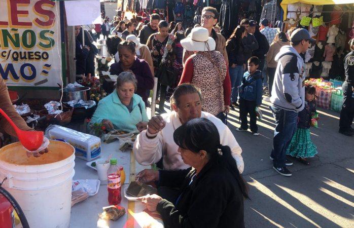 Cientos de peregrinos se reunieron en el santuario de guadalupe