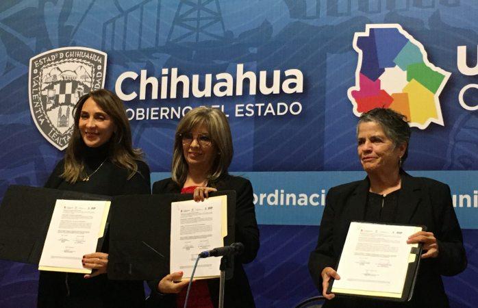 Firman dif, icatech y coepi acuerdo para combatir desnutrición en la sierra