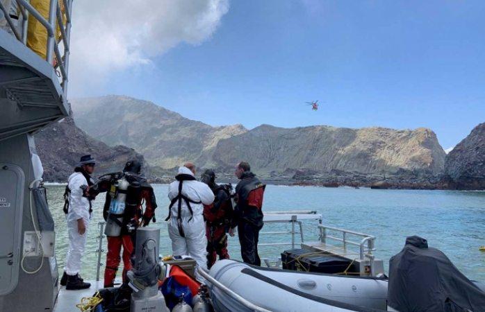Aumentan a 18 los muertos por erupción en Nueva Zelanda