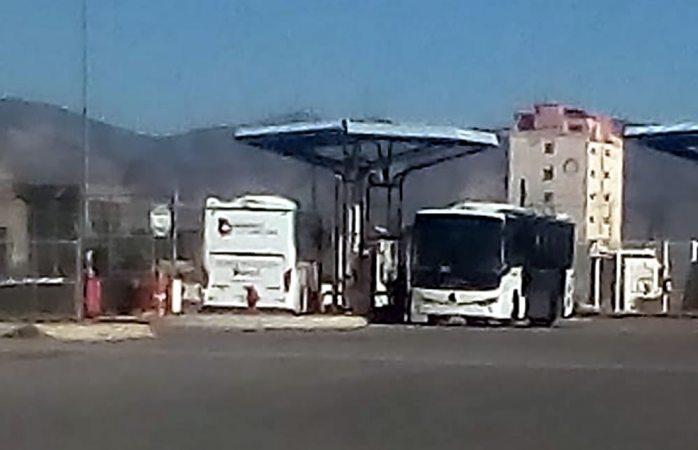 Sin autorización, cargan de gas camiones bowi