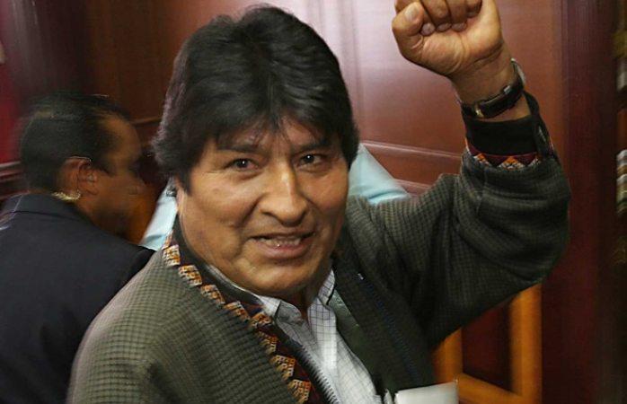 Desde argentina, evo organiza campaña electoral de bolivia