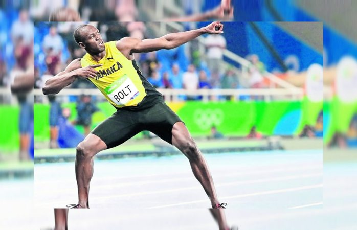 Usain Bolt iguala récord de velocidad de la NFL