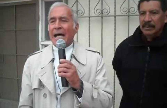Oficial: detuvieron al padre Aristeo Baca por agresión sexual