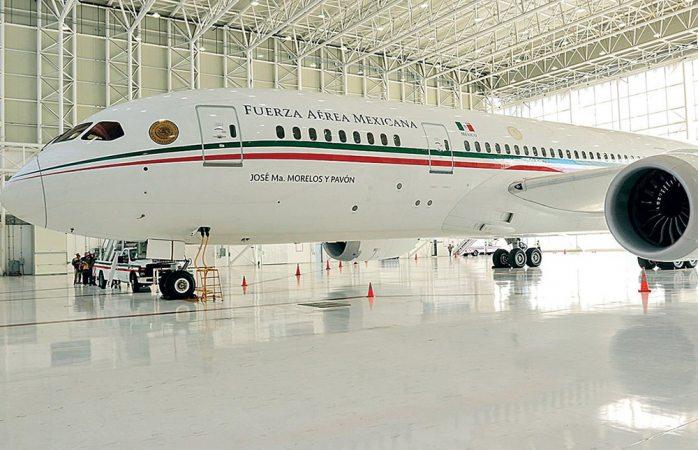 Sigue generando gasto el avión presidencial