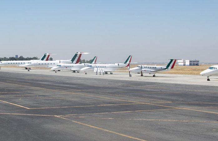 Son estos los aviones que subastara amlo