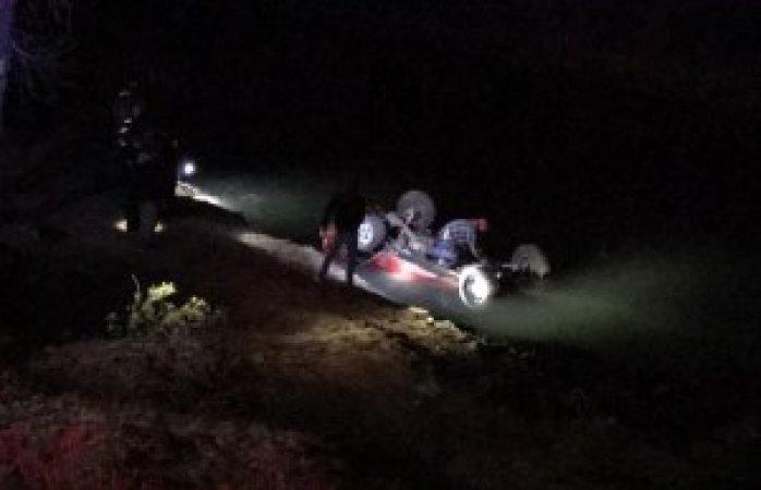 Identifican a muertos en carretera a Santa Bárbara