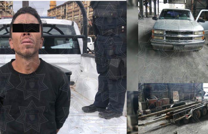 Presentan un detenido del ataque a estatales en Ávalos