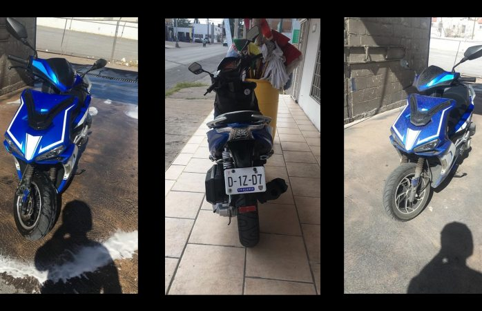 Pide ayuda para hallar su moto que fue robada
