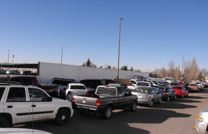 Reinicia estado decomiso de autos chuecos en la zona norte