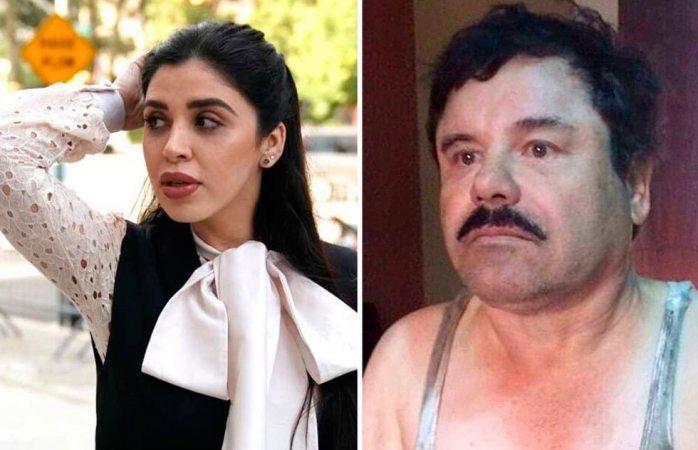 Emma Coronel llora al escuchar que El Chapo es culpable