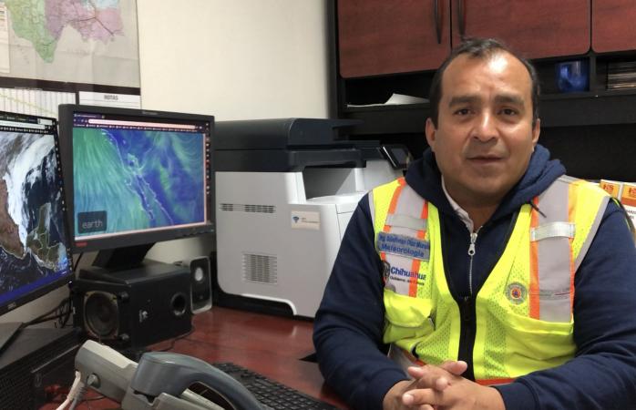 Prevén caída de aguanieve en Juárez