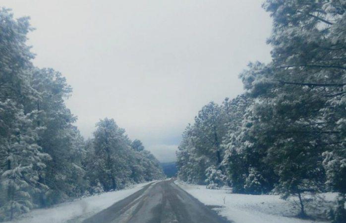 Pronostican nevada en la sierra este martes