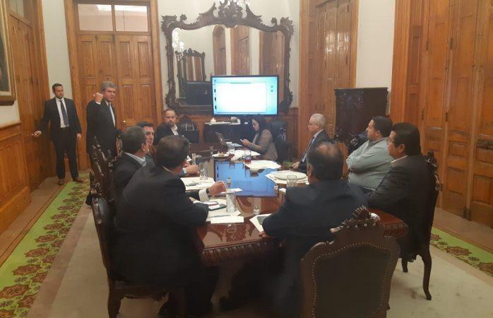 Realiza Cabada reunión de trabajo en Nuevo León