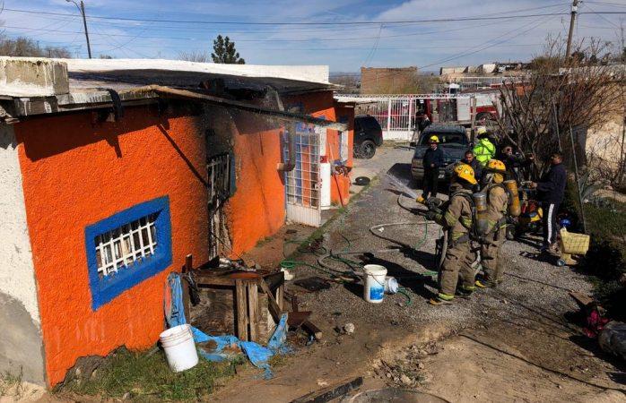 Explota tanque de gas en la libertad en Juárez