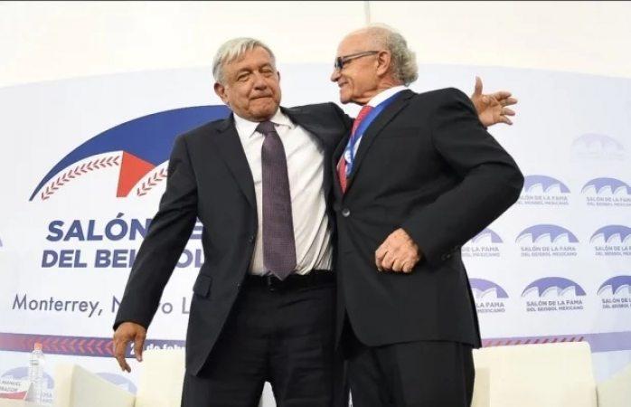 Inaugura amlo nuevosalón de la fama del beisbol mexicano