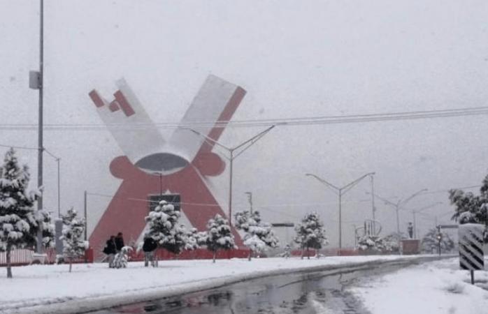 Prevén caída de nieve en Juárez el próximo viernes