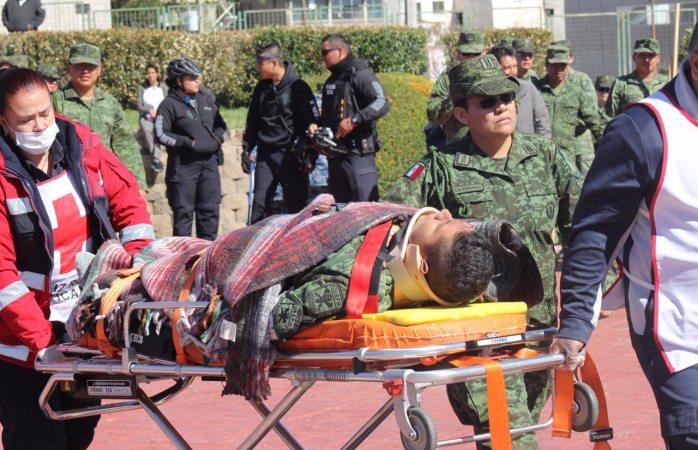 Militar lesionado en el palomar se encuentra fuera de peligro