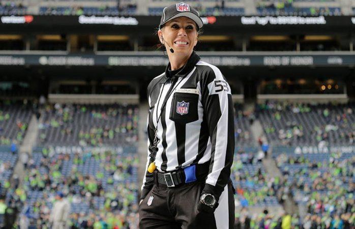 Sarah Thomas será la primera mujer árbitro en Playoffs de NFL