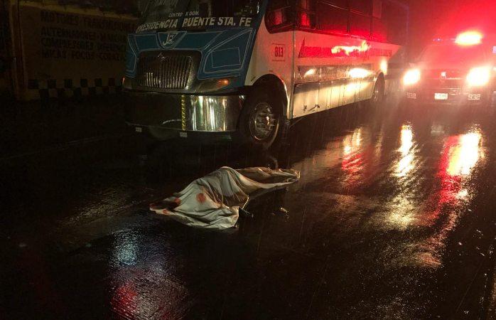 Muere anciana atropellada por camión de transporteen Juárez