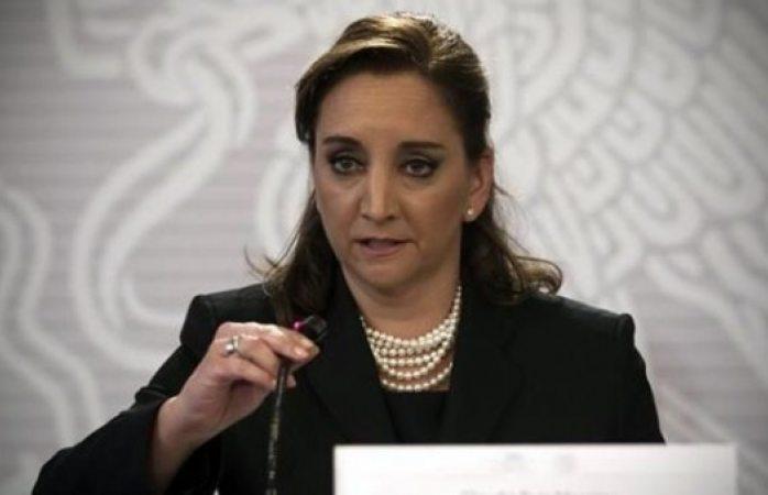 Hay cambio de horario en reuniones con Claudia Ruiz Massieu