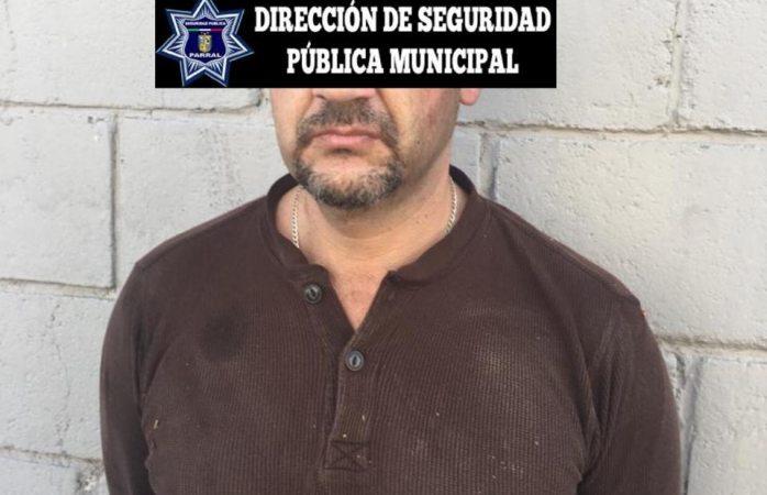 Lo arrestan a por intento de homicidio en Parral