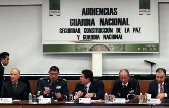 Plantea Durazo mando civil en guardia nacional