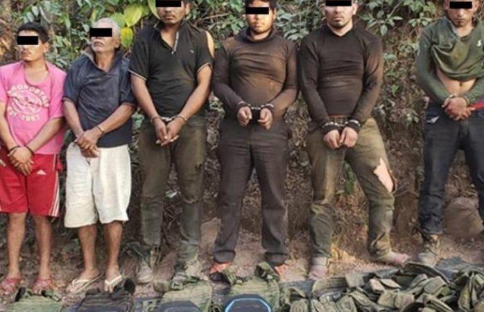 Capturan estatales a grupo armado tras balacera