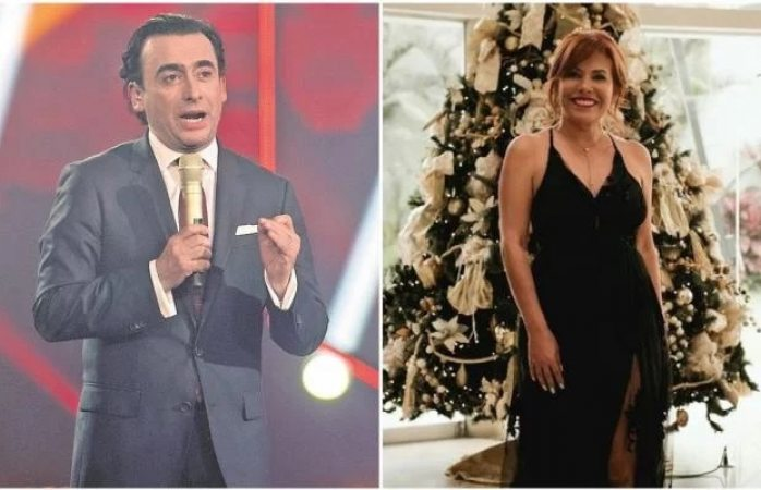 Demanda Adal Ramones a conductora peruana por copiar logo