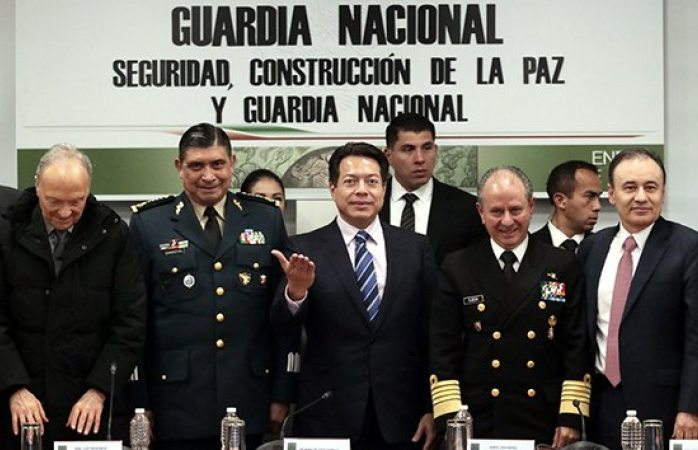Pactan colocar a civil en guardia nacional