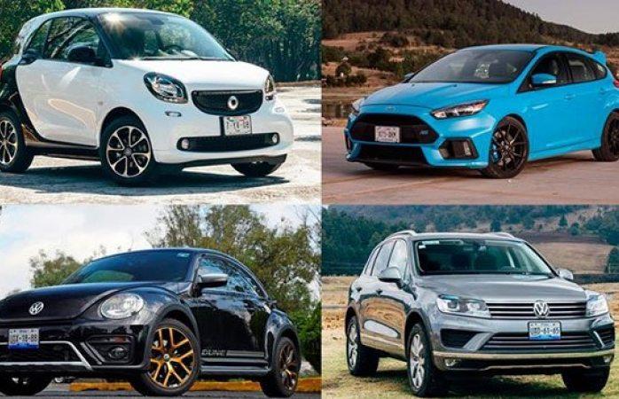 Se despiden en 2019 siete autos del mercado