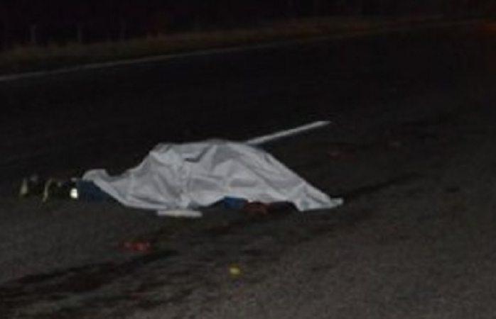 Atropellan dos veces a una persona en autopista  a Camargo
