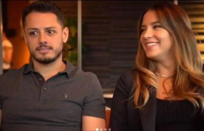 'Chicharito' y su novia Sarah Kohan anuncian que serán papás