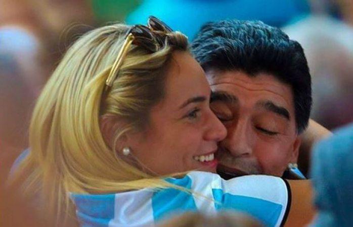 Confirma Rocío Oliva ruptura con Diego Maradona
