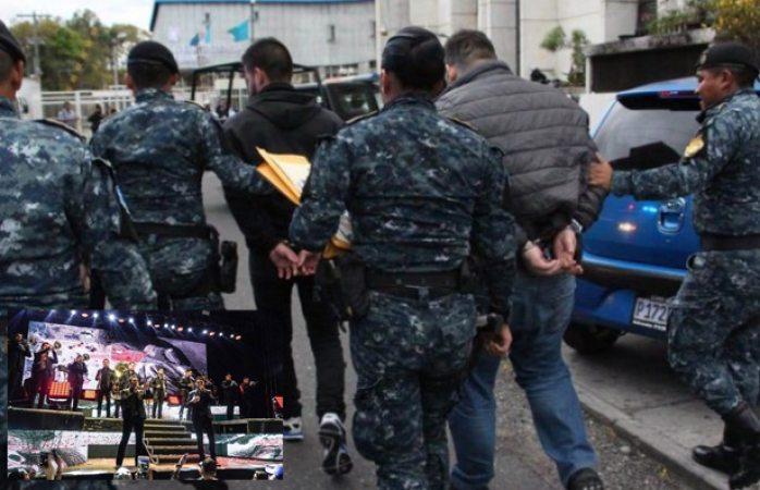 Detienen en Guatemala a integrantes del grupo La Trakalosa