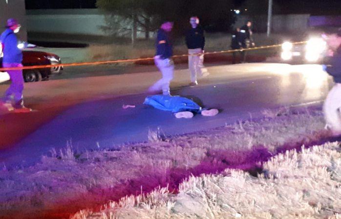 Muere motociclista tras ser atropellado dos veces en la rúa Aldama-Chihuahua