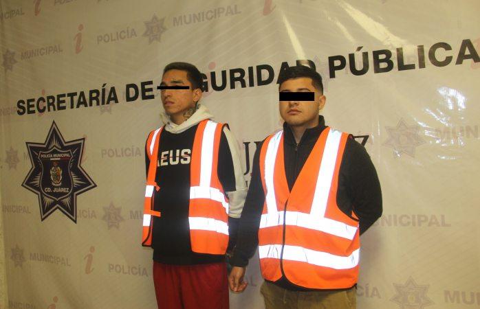 Detienen a 6 personas por robo a comercio en Juárez