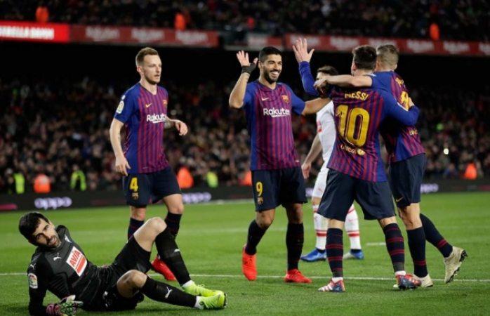 Avanza el barcelona en la copa del rey