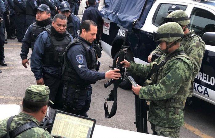 Rechaza Cuernavaca el mando único y dice sí a la guardia nacional