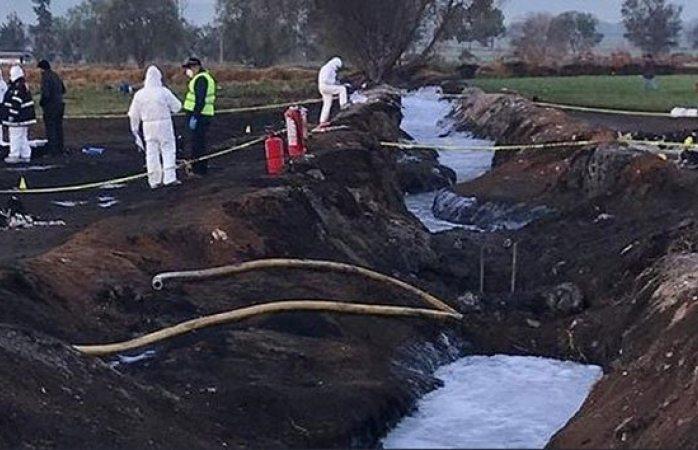 Explosión de ducto en Hidalgo fue provocado: Gertz Manero