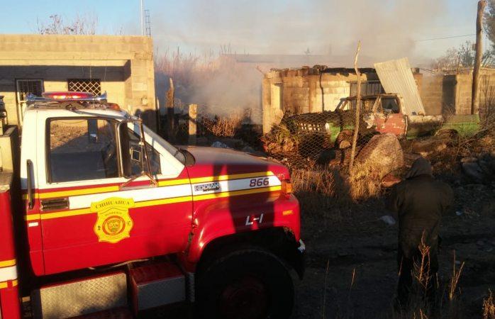 Se aviva incendio en la colonia insurgentes