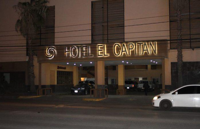 Detienen a varias personas tras operativo en hotel capitán