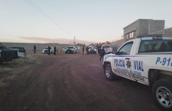 Hallan camión robado en la mañana en deshuesadero en granjas universitarias