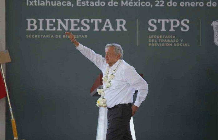 Aumenta la popularidad de Amlo tras tragedia en Hidalgo