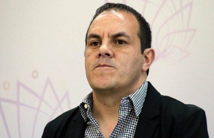 Hay un chingo de delincuentes: Cuau ante tema de seguridad en Morelos