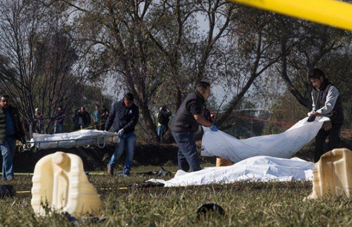 Crece lista: 113 muertos por explosión de Tlahuelilpan