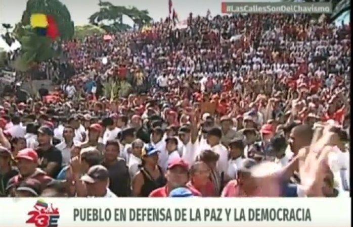 El ministro de Defensa de Venezuela denunció