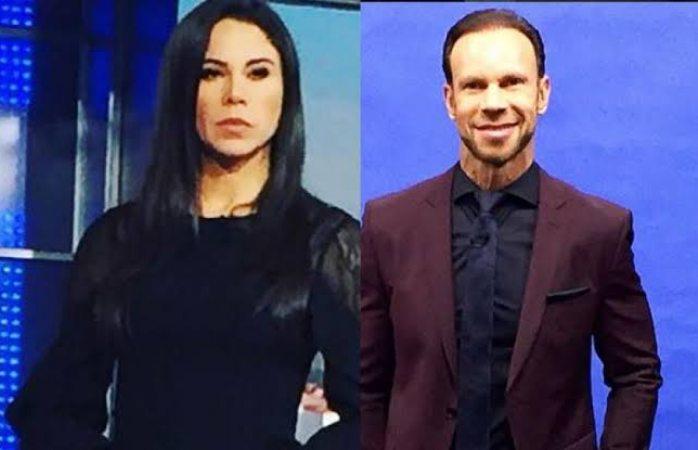 Zague hace pequeña aparición en noticiario de Paola Rojas