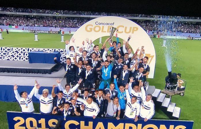 México campeón de La Copa Oro 2019